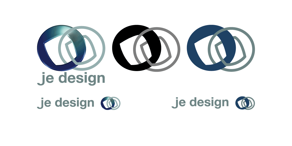 Je design logo alternatives